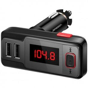 JAMESON FM-21 DUAL USB-AUX-MICRO SD-BLUETOOTH EKRANLI FM TRANSMITTER