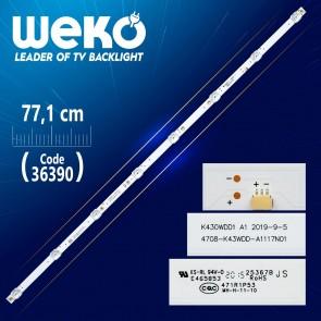 K430WDD1 A1  4708-K43WDD-A1117N01 8 LEDLİ 77.1 CM