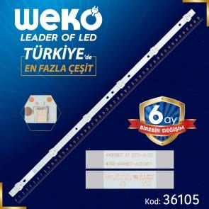 K490WD7 A1 4708-K49WD7-A1213K11 6 LEDLİ 50.5 CM