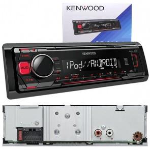 KENWOOD KMM-203 MEKANİKSİZ OTO TEYP (USB/FM)