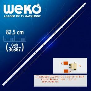 KJ43D08-ZC22AG-13E 303KJ430041E 8S1P  8 LEDLİ  81.50 CM