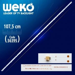 KJ55D09-ZC22AG-07E 9S1P 303KJ550051E 9 LEDLİ 107.5 CM