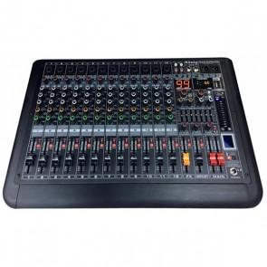 KÖNİG K-1208FX 12 KANAL XRL USB-BT-7 BANT EQ ULTRA SLİM DECK MİXER