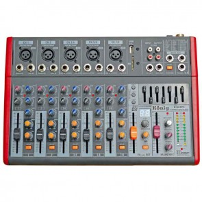 KÖNİG K-802 FX 8 KANAL DEC MIXER