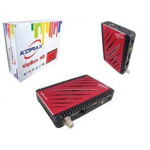KORAX*HİTECH VIPBOX GOLD HD IP TV + ETHERNETLİ FULL HD MİNİ UYDU ALICISI (ALICI GÖZ-6804)