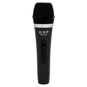 KSP FM-198 KABLOLU EL MİKROFONU