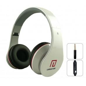 Langston iM-12v Kulaklık Mikrofon ve 3.5mm Stereo Kablo - Beyaz
