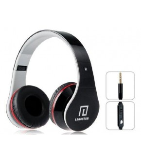 Langston iM-12v Kulaklık Mikrofon ve 3.5mm Stereo Kablo - Siyah