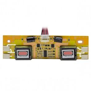LCD İNVERTÖR (2 TRAFOLU) ELEKTROMER (2 KÖMÜRLÜ - 4 ÇIKIŞLI)