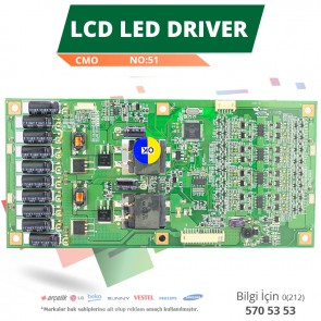 LCD LED DRİVER CMO (L460H1-4EC,L460H1-4EF-C001A) (V460H1-LS1) (NO:51)