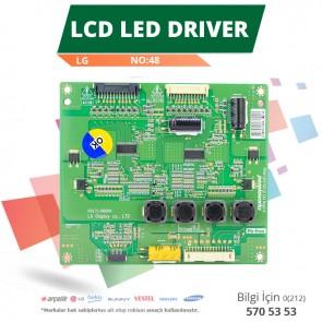 LCD LED DRİVER LG (6917L-0060A,PPW-LE47GD-O(A) REV0.4) (LC470EUN SD F1) (NO:48)