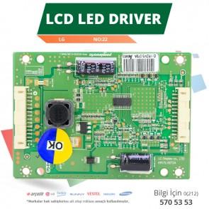 LCD LED DRİVER LG (6917L-0072A,PPW-LE32GD-O(B) REV0.1) (LC320EXN SD A1) (NO:22)