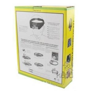 Led Işıklı Kafa Büyüteci Loop 5.8X Zoom Mg-81007-A