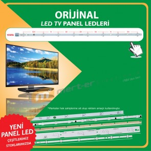 17DLB40VXR1 - LB40017 V0_05 (38S) - A TYPE - 74.8 CM 8 LEDLİ - (WK-196)