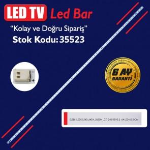 LED TV LEDLERİ ELED SLED SLS40_64EA_5630N LCD 240 REV0.2  64 LED 45.5 CM