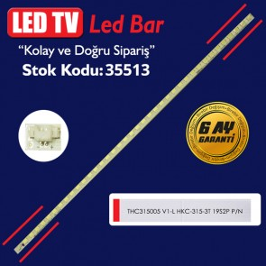 LED TV LEDLERİ ELED THC315005 V1-L HKC-315-3T 19S2P P/N 35.5 CM 38 LED