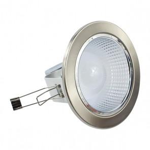 LEDON LD-1008S 8W BEYAZ-SATEN MERCEKLİ DOWNLIGHT COB LED