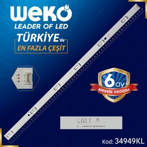 LG DRT 3.0 32_A TYPE REV0.2 - 6916L-2406A - (LGİT A) - (KL) - 59 CM 6 LEDLİ - (WK-72) 34949 KL