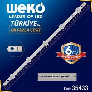 LG INNOTEK 42 NDE REV 0.2/0.3 B TYPE - 40.3 CM 5 LEDLİ - (WK-272)