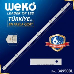 LG INNOTEK DRT 3.0 32_B TYPE REV0.2/9 - 6916L-2407A - 59 CM 6 LEDLİ - (WK-73B) - (BL) -