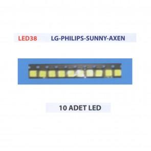 LG PHILIPS SUNNY AXEN 10 Adet Tv Bar Led