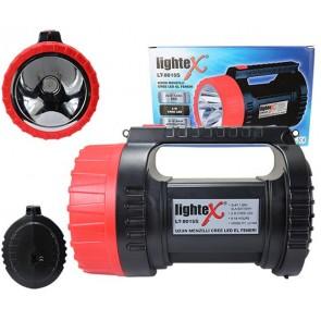 LIGHTEX LT-8015S 5W CREE LED 2 KADEMELİ ŞARJLI EL FENERİ  (4V-5.0 AH AKÜLÜ)