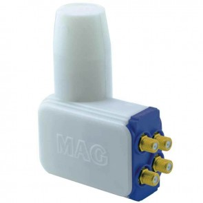 MAG NEC CHIP 4K ULTRA HD SLİM ROCKET QUAD DÖRTLÜ LNB 0.1 DB