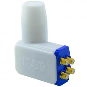 MAG NEC CHIP 4K ULTRA HD SLİM ROCKET QUATTRO DÖRTLÜ SANTRAL LNB 0.1 DB