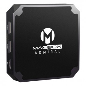 MAGBOX ADMIRAL 2GB DDR3 RAM 16GB HAFIZA DAHİLİ WİFİ NETFLIX ANDROID TV BOX
