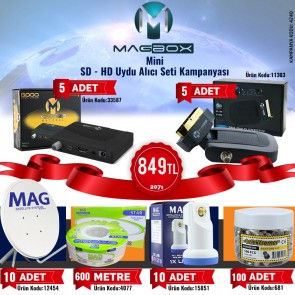 MAGBOX MİNİ HD-SD UYDU ALICI KAMPANYASI (207 USD)