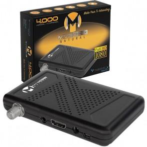 MAGBOX NATURAL FULL HD + USB MİNİ HD UYDU ALICISI TKGSLİ + YOUTUBELU (3041)
