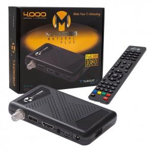 MAGBOX NATURAL PLUS FULL HD + USB MİNİ HD UYDU ALICISI TKGSLİ + YOUTUBELU (3041) YENİ