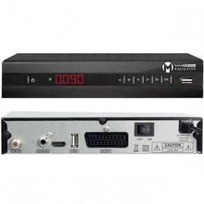 MAGBOX NAVİGATOR KASALI FULL HD UYDU ALICISI TKGSLİ (HDMI+SCART ) * SUN PLUS İŞLEMCİLİ