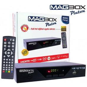 Magbox Pluton Kasalı HD Uydu Alıcısı TKGS li