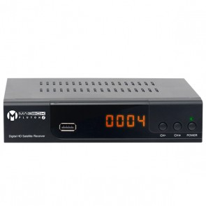MAGBOX PLUTON S YENİ MODEL KASALI FULL HD UYDU ALICISI TKGSLİ (SCART+HD) HDMI KABLO DAHİL