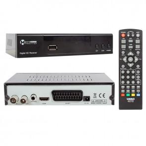 MAGBOX PRESTİGE DVB-T2/C FULL HD MİNİ KARASAL-UYDU ALICISI (HDMI+SCART) YOUTUBELU