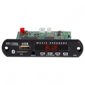 MAGICVOICE MP5 USB/SD/MMC/BLUETOOTH KUMANDALI ÇEVİRİCİ DİJİTAL VİDEO PLAYER BOARD (12V-500MA)