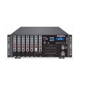 MAGICVOICE MV-1213 KÜP MİXER ANFİ USB BT UK RMS100W  MAX 800W 6 ZON+99DSP+4-16-70-100V TRAFOLU