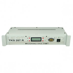 MAGICVOICE MV-208R USB RACK TİPİ AKILLI OKUL ZİL SAATİ ( 6 MELODİLİ * 19 ) * WESTSOUND TKS-207R