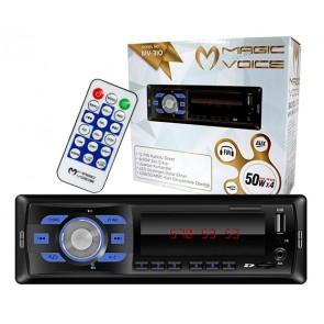 MAGICVOICE MV-310 USB/SD/FM MEKANİKSİZ OTO TEYP  (4 X 50 W)