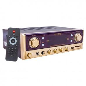 MAGICVOICE MV-500 80 WATT USB/SD/BLUETOOTH 2 BÖLGELİ HAT TRAFOLU ANFİ