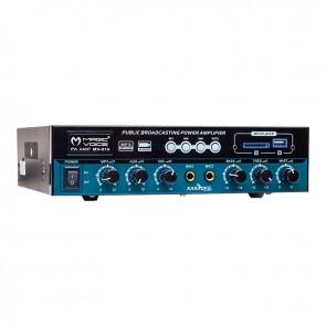 MAGICVOICE MV-510 50 WATT USB/SD/BLUETOOTH 2 MİK. GİRİŞLİ HAT TRAFOLU ANFİ