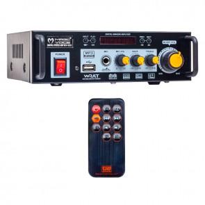 MAGICVOICE MV-520 15 WATT USB/SD/BLUETOOTH 1 MİK. GİRİŞLİ TRAFOSUZ ANFİ