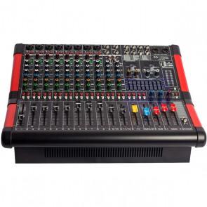 MAGICVOICE MV-A1200 12 XF CH-2X650-W USB/BT/POWER MİXER ANFİ