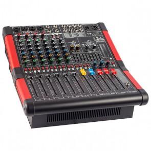 MAGICVOICE MV-A800 XF 8 CH-2X650 W-USB/BT POWER MİXER ANFİ