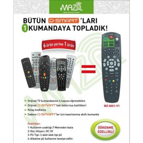 MAZA D-SMART+TV AKILLI KUMANDA