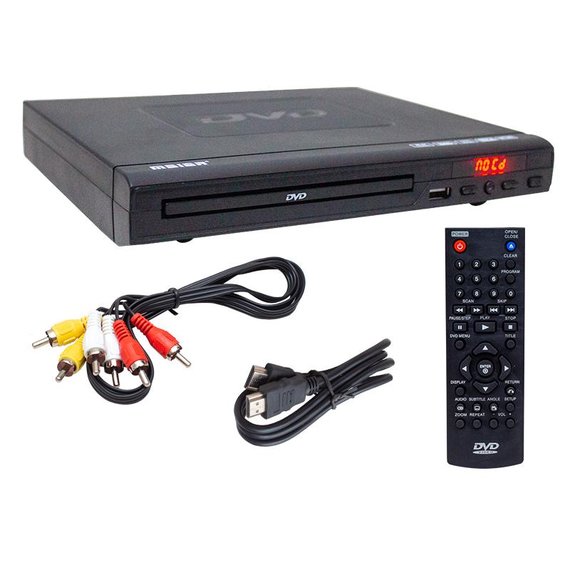 MEİER M-115 USB HDMI DVD DVX PLAYER SİYAH