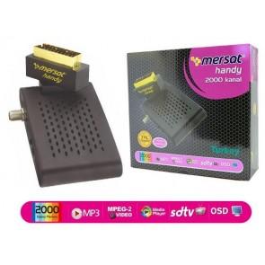 Mersat Handy Tkgs'Li  Mini Scart Sd Uydu Alıcısı
