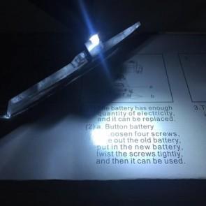 MG19157-3 Işıklı Gözlük Büyüteç (1.5X, 2.5X, 3.5X) Değişebilir 3 Lens