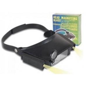 MG81007 Led Lambalı Şapka Tip Işıklı Büyüteç